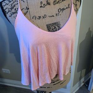 !!Gorgeous stretch crop top in light pink!!